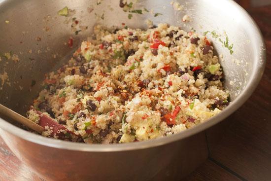 mixed Tex Mex Quinoa