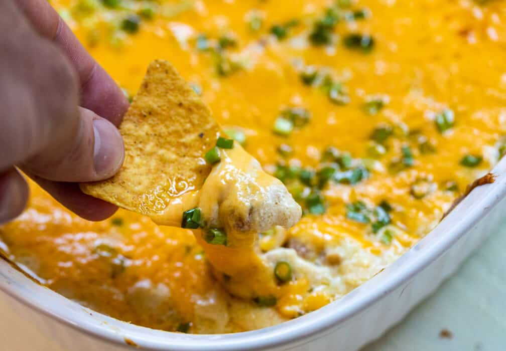 Baked Queso Dip