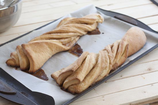 baked Cinnamon Twists