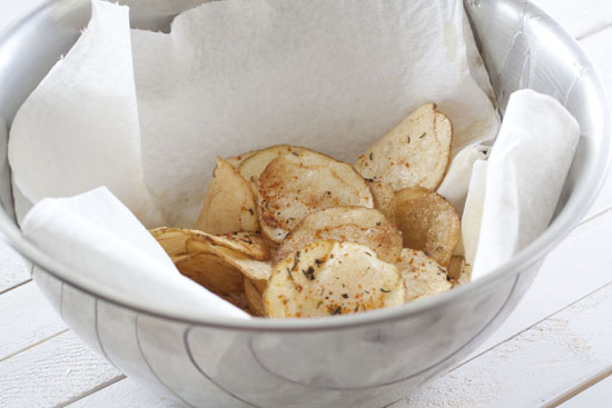 seasoned - Homemade Spicy Chips