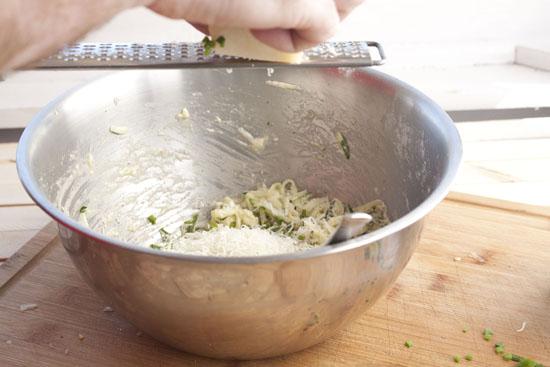 grate - Zucchini Fritters