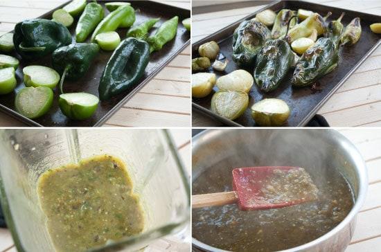 Squash Enchiladas sauce ingredients