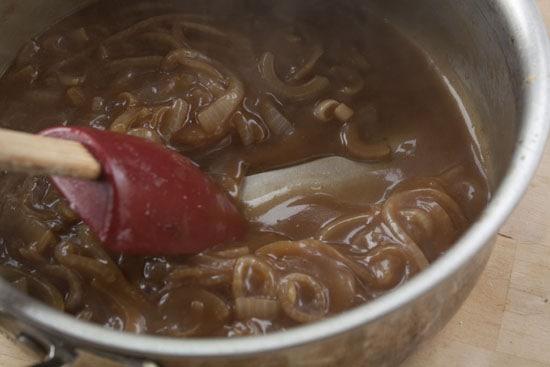 gravy for Bangers and Mash
