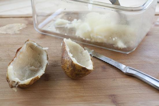 potatoes - Bacon Potato Skins