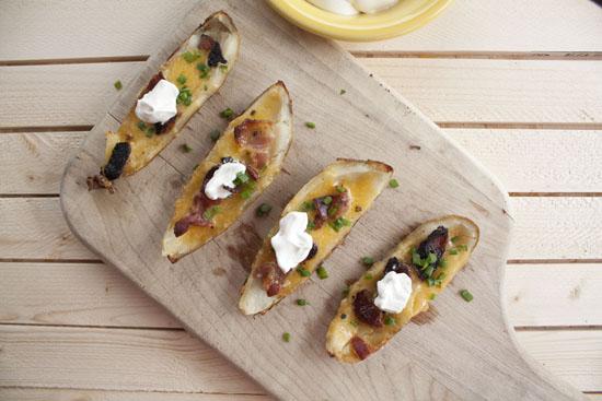 Bacon Potato Skins recipe - Macheesmo