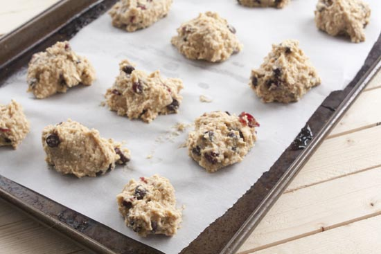 ready to bake - Energy Cookies
