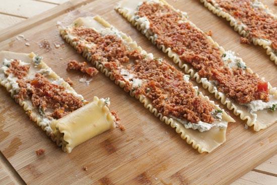 rolling Lasagna Rolls