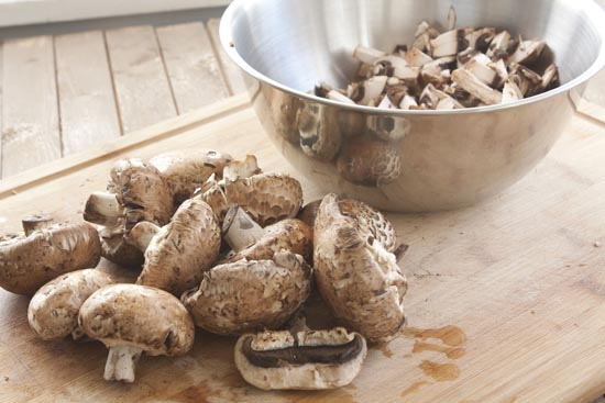 cremini mushrooms for burgers - Mushroom Burgers