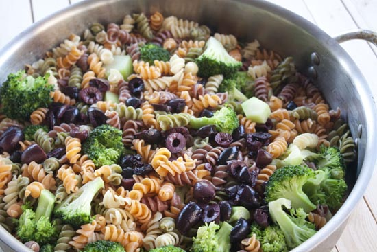 tossed - Broccoli Pasta Toss