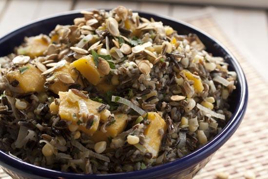 Wild Rice Salad - Macheesmo
