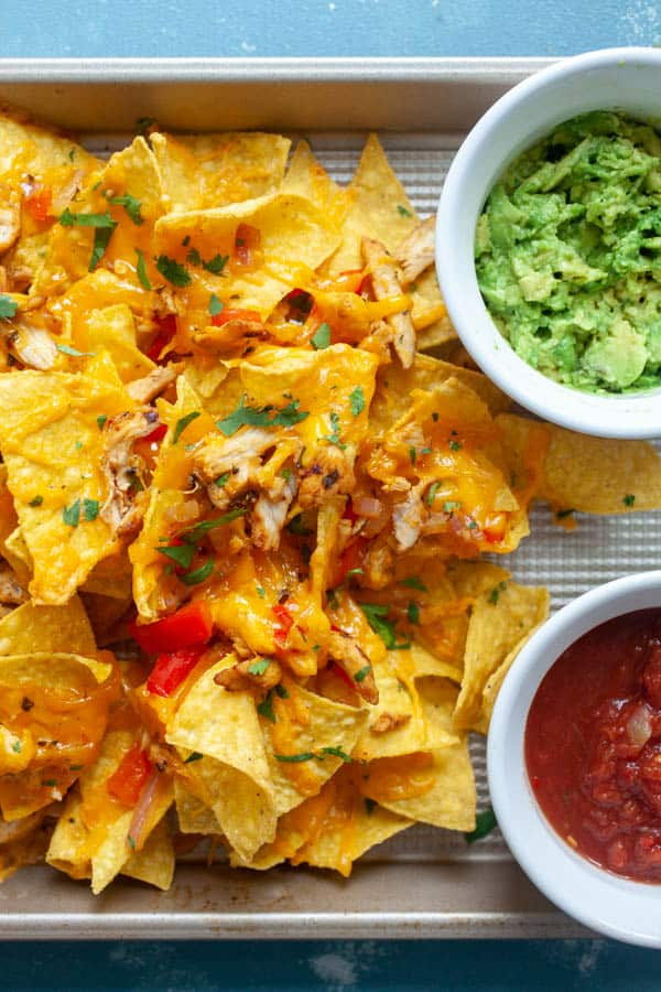 How to Make Chicken Fajita Nachos