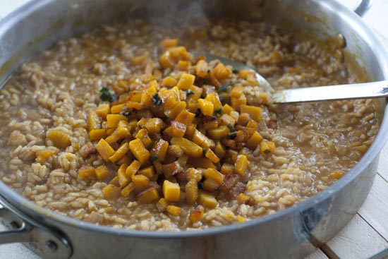 Kabocha Risotto Recipe - Macheesmo