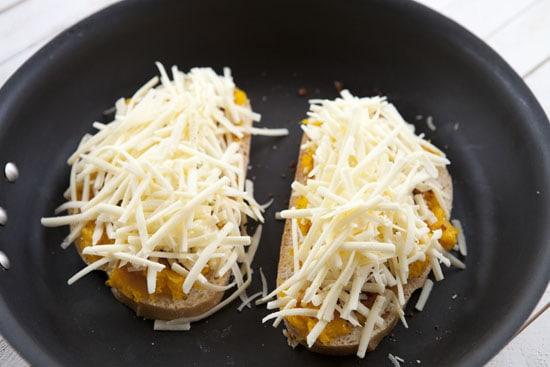 Gruyere Pumpkin Grilled Cheese