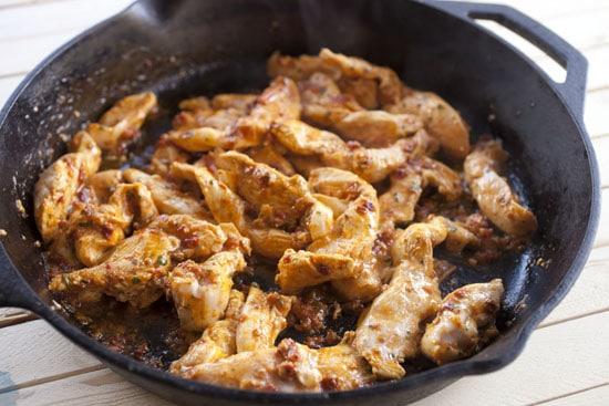 chicken - Chicken Fajita Nachos
