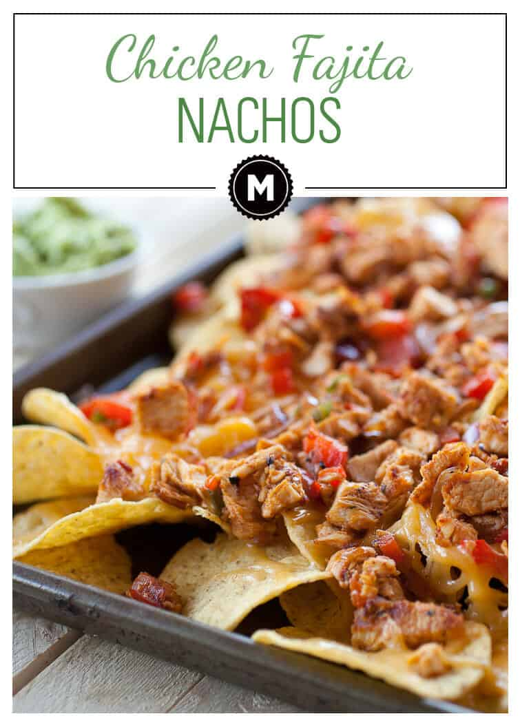 Making good nachos doesn't have to be hard. These Chicken Fajita Nachos are easy to make, super delicious, and perfect for dinner or a game day appetizer!