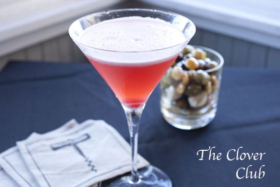 clover - Egg White Cocktails