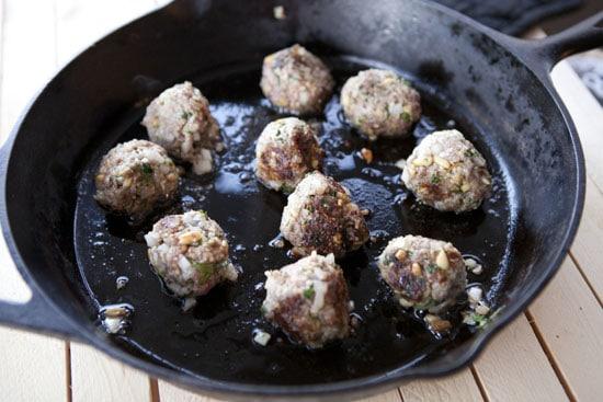 cooking Lamb Meatballs