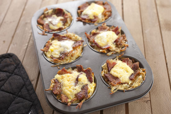 cooked Breakfast Potato Cups