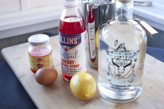 gin - Egg White Cocktails