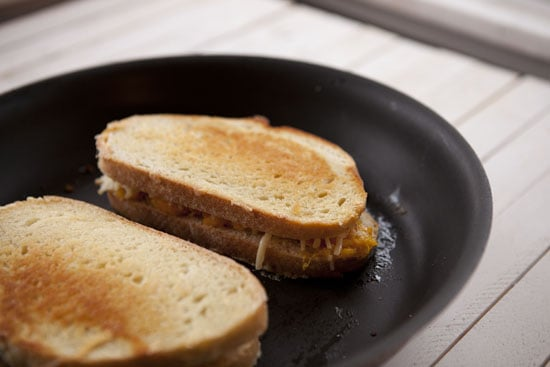 grilling - Pumpkin Grilled Cheese