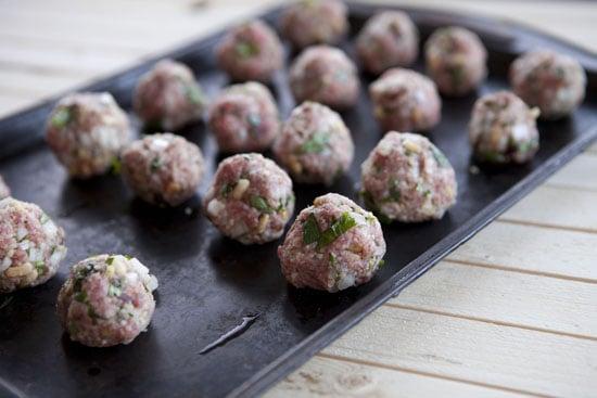 shaped Lamb Meatballs