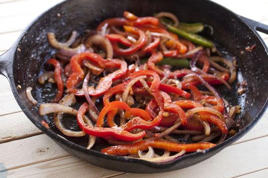 peppers - Chicken Fajita Nachos