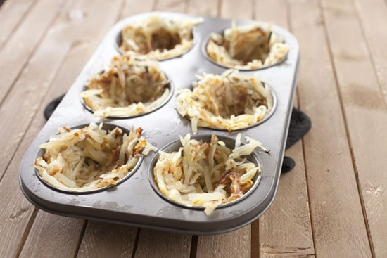 in tins - Breakfast Potato Cups