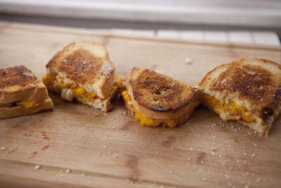 Pumpkin Grilled Cheese Recipe from Macheesmo