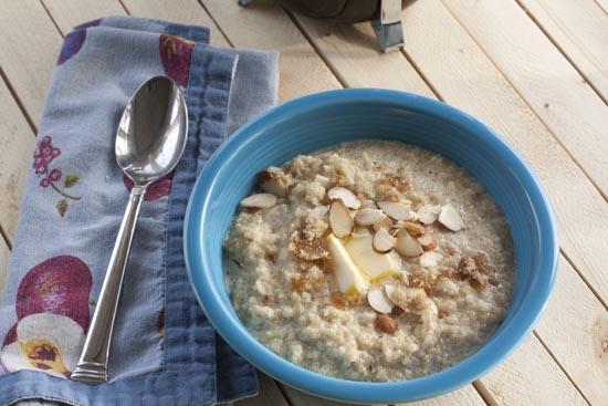 Quinoa Porridge recipe from Macheesmo