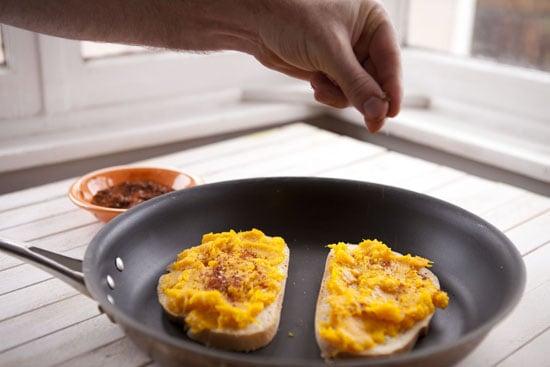 seasoning - Pumpkin Grilled Cheese