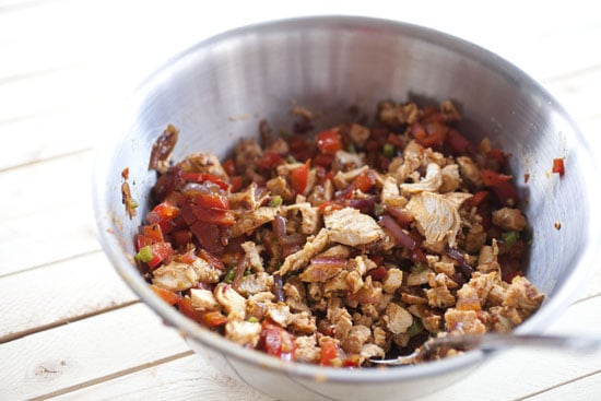 chopped - Chicken Fajita Nachos