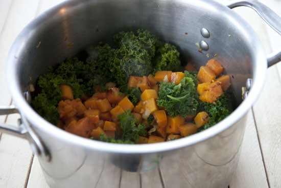 Squash and Kale Stew recipe