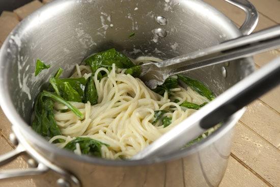 thickened - Mascarpone Spinach Pasta