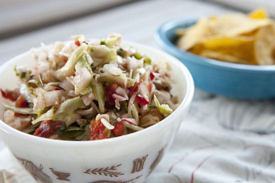 Cabbage Salsa recipe from Macheesmo