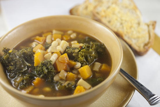 Squash and Kale Stew recipe from Macheesmo