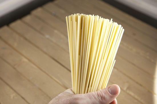 pasta for Mascarpone Spinach Pasta
