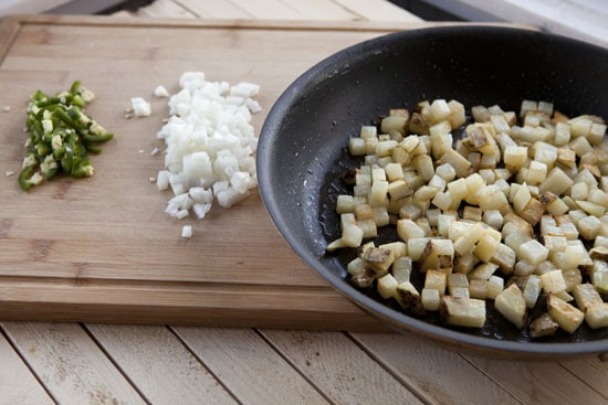 potatoes for Turkey Breakfast Tacos