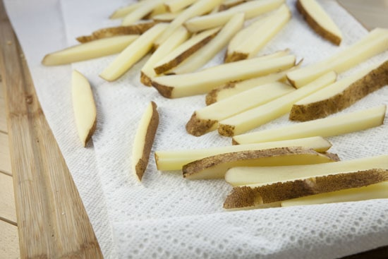 potatoes for Lomo Saltado