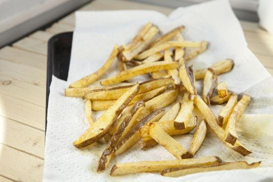 fried potatoes for Lomo Saltado