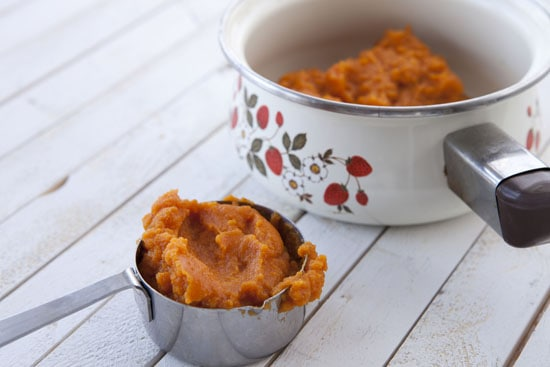 pumpkin for Pumpkin Pie Crepes