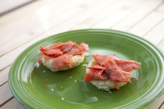 salmon - Salmon Benedicts