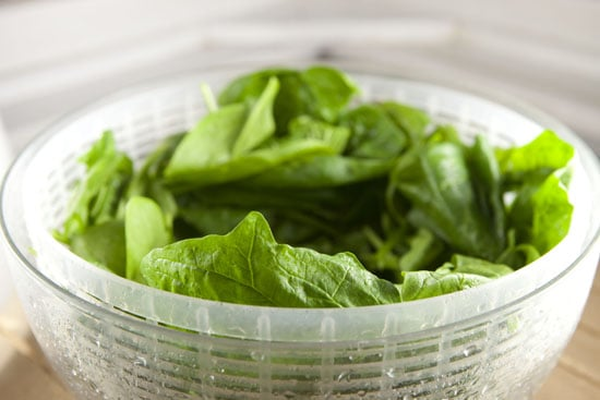 spinach for Mascarpone Spinach Pasta
