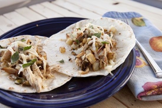 Turkey Breakfast Tacos Recipe from Macheesmo