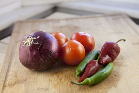 veg for Lomo Saltado