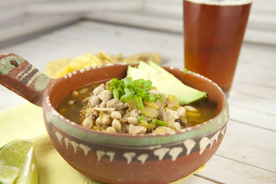 White Turkey Chili recipe from Macheesmo