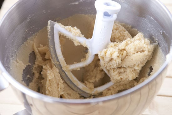 dough for Chocolate Pistachio Cookies