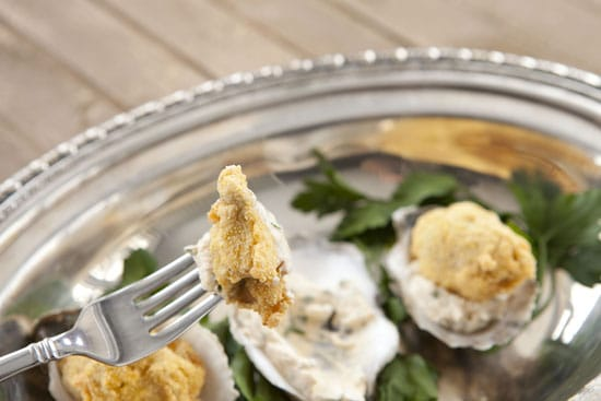 Fried Oysters Recipe from Macheesmo