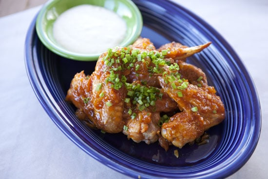 Apricot Habanero Wings - Hot wings recipe from Macheesmo