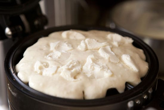 waffle iron - Date Waffles