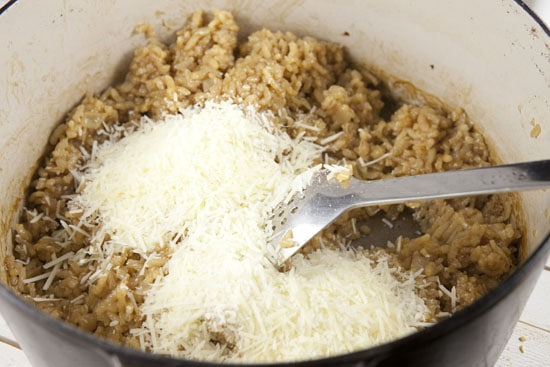 parm for Baked Risotto